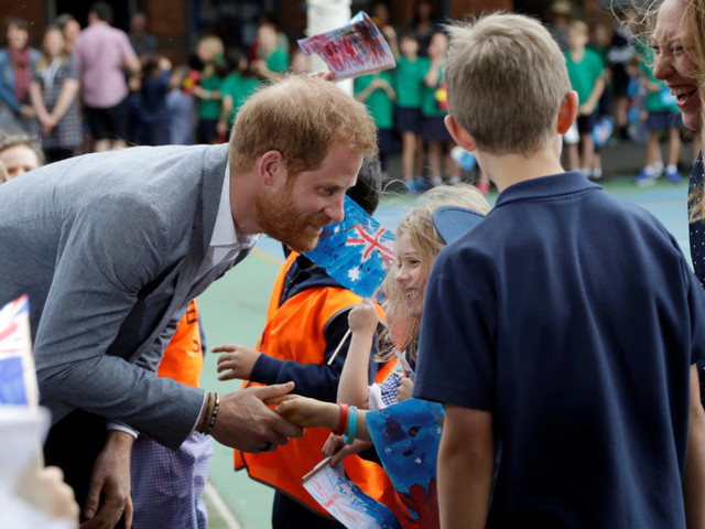 In Picture: Prince Harry in Melbourne