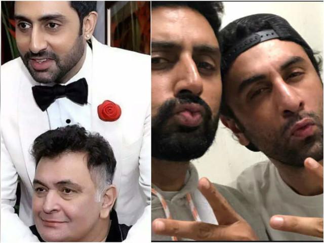 Abhishek Bachchan on late Rishi Kapoor