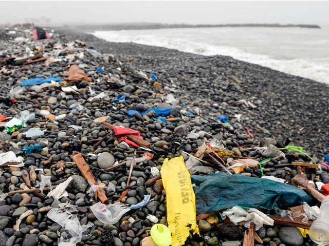 Degrading plastics emit greenhouse gases: Study