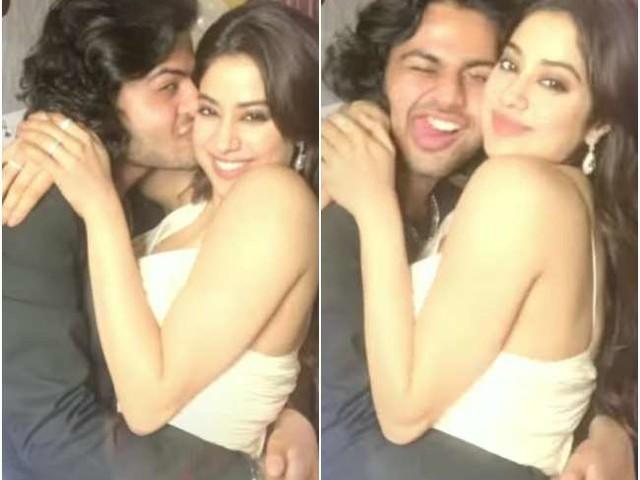 Janhvi Kapoor को रयूमर्ड एक्स बॉयफ्रेंड ने किए खूब सारे KISS, तो बहन खुशी कपूर का था ऐसा रिएक्शन
