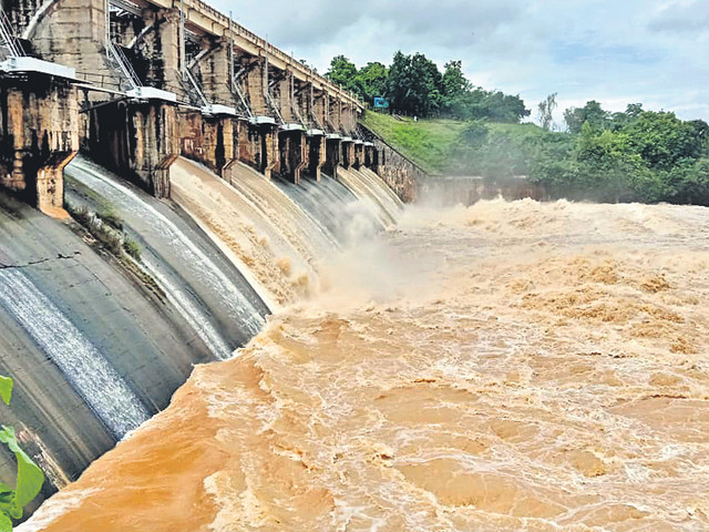No district rainfall-deficient in Telangana