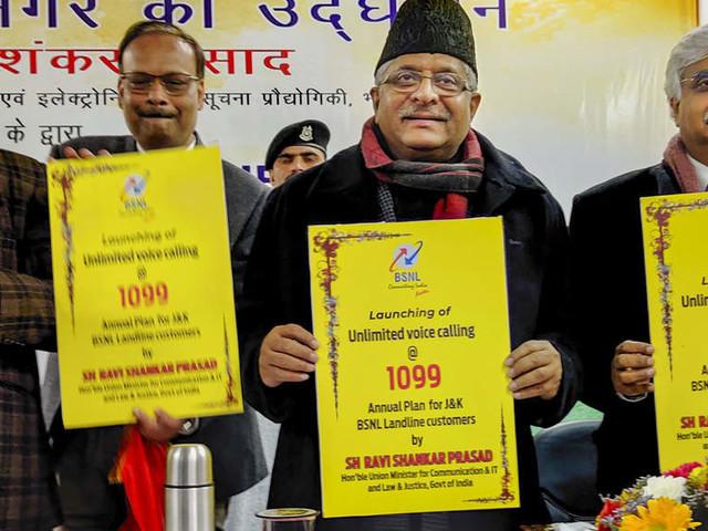 Need to work together to empower J&K: Ravi Shankar Prasad