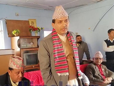 Complaint lodged against Health Minister Dhakal at CIAA