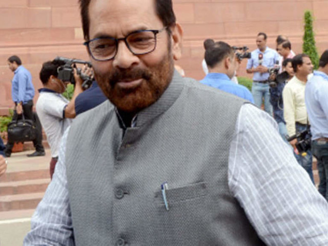 Hate for BJP planted among minorities for 70 yrs, can't be wiped out in 70 days or 7yrs: Mukhtar Abbas Naqvi