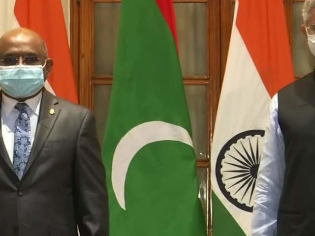 Jaishankar meets Maldivian counterpart Abdulla Shahid