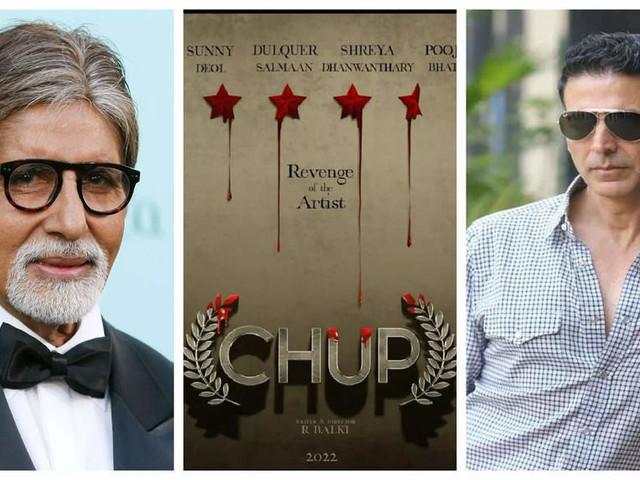 Akki, Big B praise the first-look of 'Chup'
