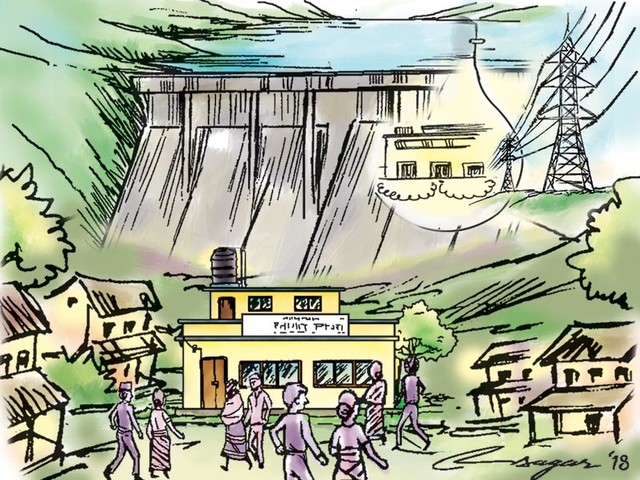 $453.2m pact signed to develop UT-1 hydel