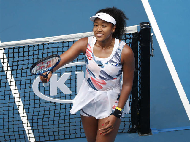 Osaka's win gets Aus Open started as smoke fears ease