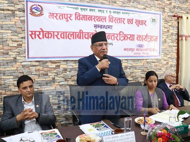 People's impatience might grow to dangerous level, Dahal warns