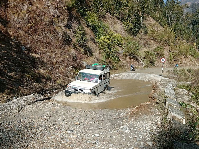 Pathetic road condition!