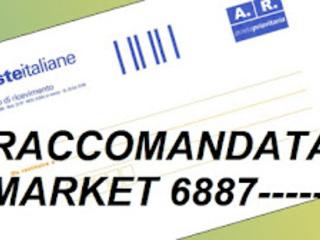 Raccomandata market 6887, chi la manda?