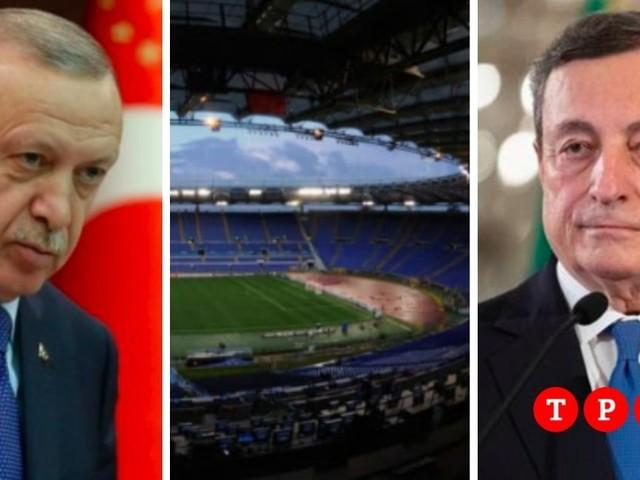La partita tra Draghi e Erdogan si gioca allo stadio: ora la Turchia può strappare all'Italia gli Europei