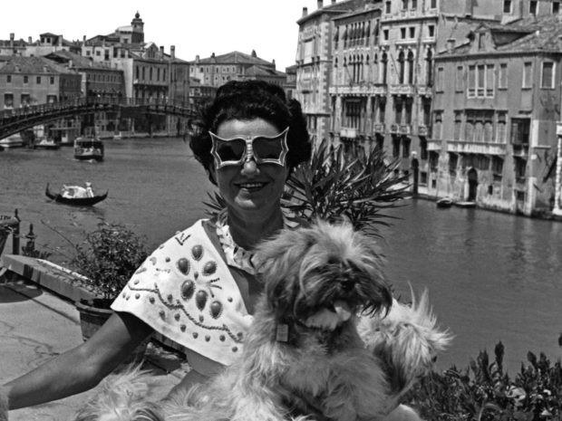 """""""Peggy Guggenheim. L'ultima Dogaressa"""" a Venezia dal 21 Settembre."""