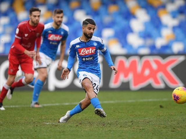 Coppa Italia, il Napoli ai quarti: decide una doppietta di Insigne