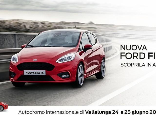 Anteprima Nuova Ford Fiesta