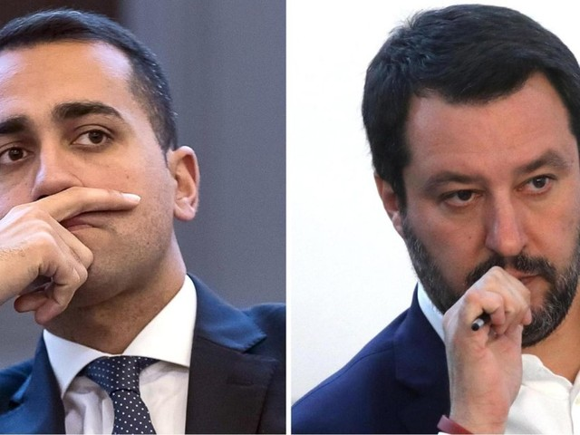 """""""Di Maio da solo dove va? Voglio vedere dove li trova 90 voti..."""". Di Maio: """"A lui ne mancano 50, glieli dà Renzi? Auguri"""""""