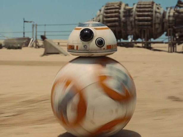 Aspettando l'ultimo Star Wars, BB-8 va (davvero) nello spazio