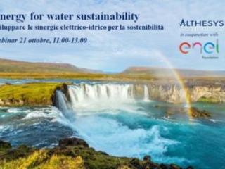 Elettricità e acqua alleate contro il cambiamento climatico e per la sostenibilità