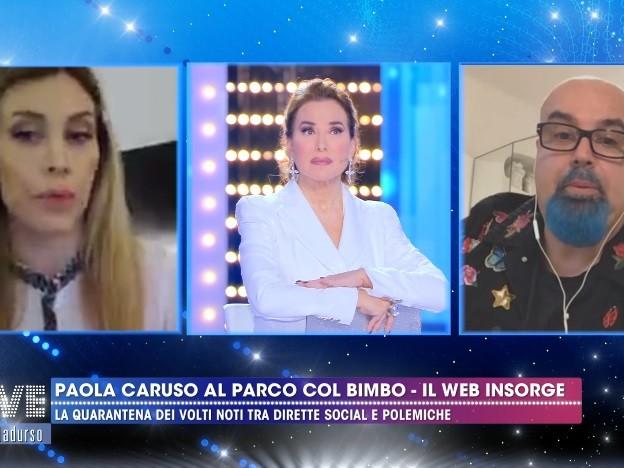 """Giovanni Ciacci al vetriolo contro la Caruso: """"Hai fatto una ca..., non starnazzare"""""""