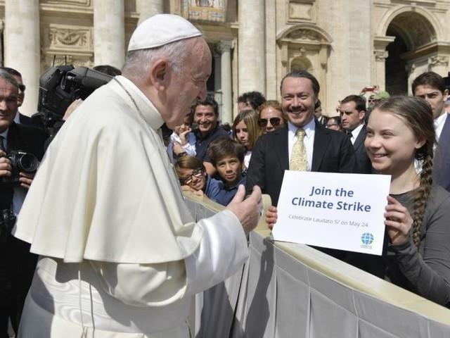 Papa Francesco alla COP25 Unfccc: sul clima le parole son lontane dalle azioni concrete
