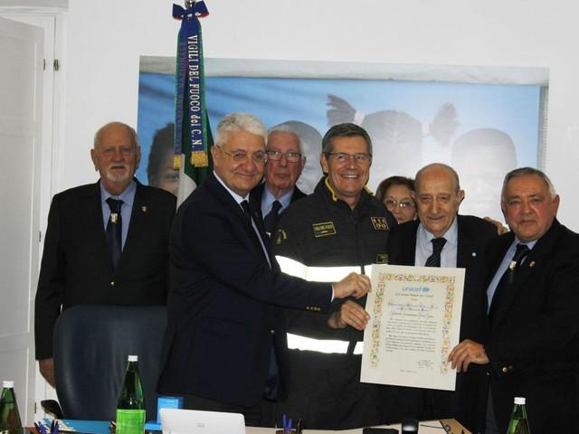 Unicef: Associazione Nazionale Vigili del Fuoco diventa Goodwill Ambassador