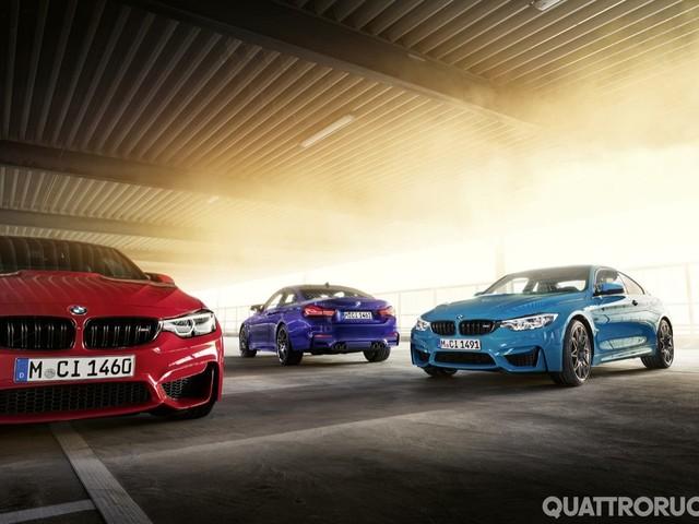 BMW M4 - Le Edition M Heritage debutteranno al Ring