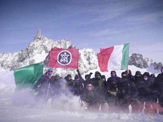 Monte Bianco: spedizione Casa Pound, 'rivendichiamo confini'