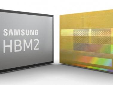 Samsung inizia la produzione di memorie HBM2 da 8GB