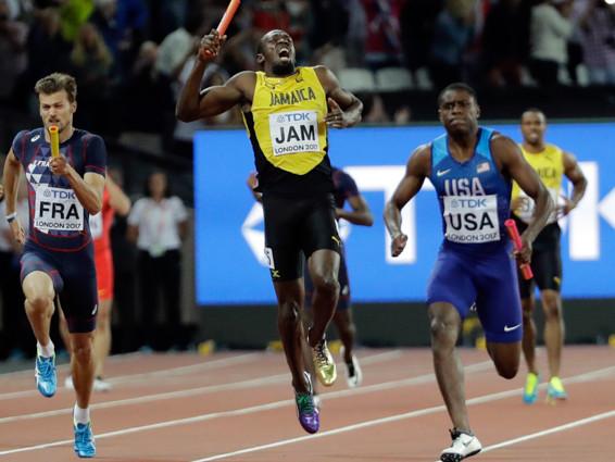 Usain Bolt si è fatto male durante l'ultima gara della sua carriera