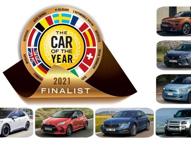 Car of the year 2021 - Svelate le sette finaliste