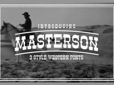 36 Best Western Fonts (Old Western, Cowboy, and Country Style)