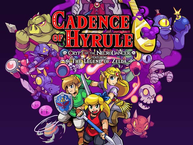 Cadence of Hyrule – Crypt of the NecroDancer Featuring The Legend of Zelda arriva oggi in versione f