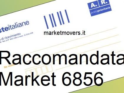 Raccomandata market 6856, chi la manda?