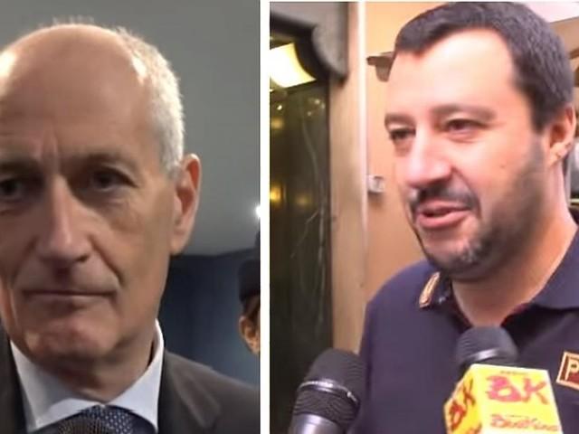 Il capo della Polizia Gabrielli sta con Salvini sulle divise: 'Gesto di attenzione'
