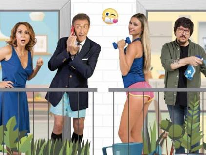 Lockdown all'Italiana, il trailer del film con Martina Stella ed Ezio Greggio