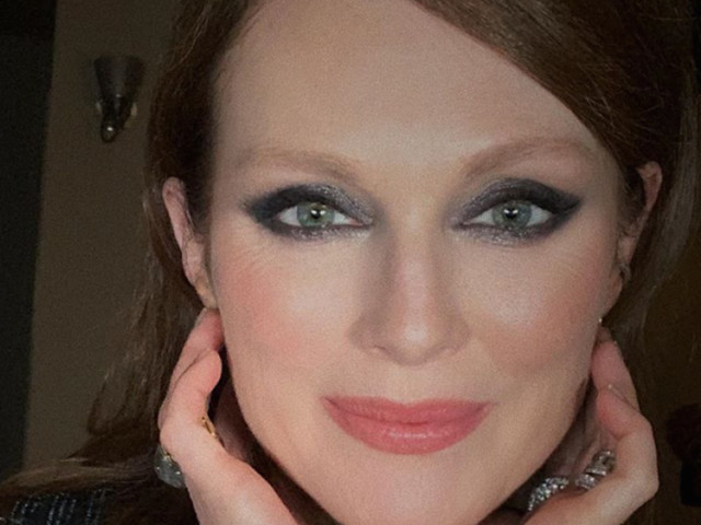 Julianne Moore e lo smokey eyes da 10 e lode: ecco come copiarlo in 5 minuti
