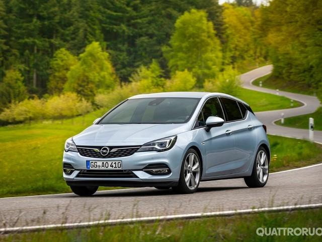 Opel Astra - Col restyling arrivano nuovi motori