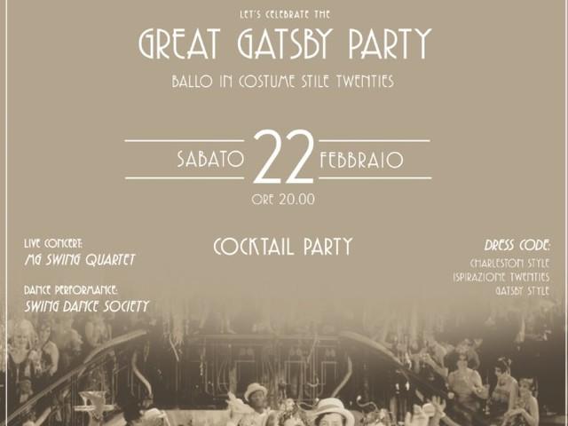 THE GREAT GATSBY PARTY. IL GRAND HOTEL MAJESTIC RIEVOCA GLI ANNI VENTI