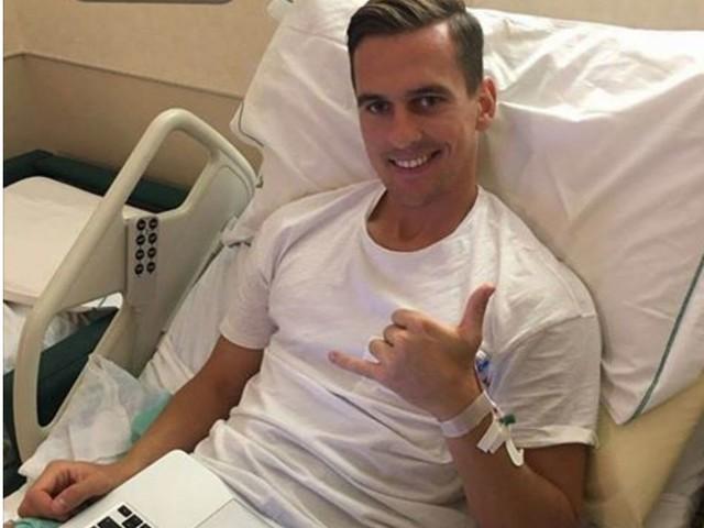 """Milik: """"Grazie ai tifosi del Napoli. Già penso al ritorno in campo"""""""