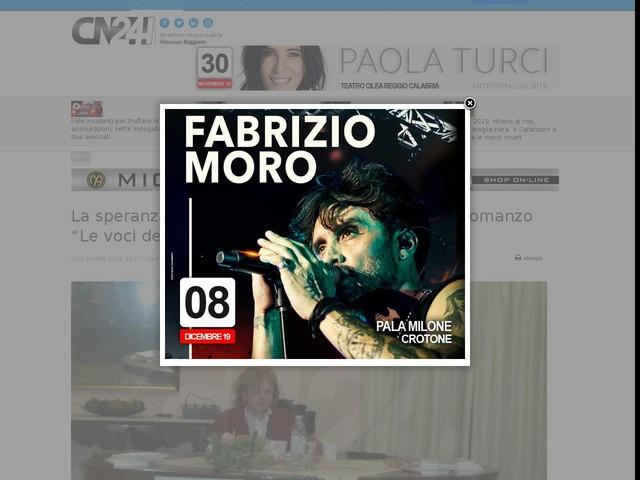 """La speranza di una Calabria nuova e diversa nel romanzo """"Le voci dell'eco"""""""