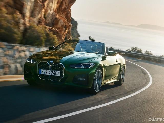 BMW - Tolti i veli alla nuova Serie 4 Cabrio