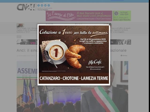 Anci: il sindaco di Cassano rieletto nel Consiglio Nazionale