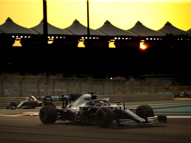 F.1, GP Abu Dhabi - Hamilton domina a Yas Marina