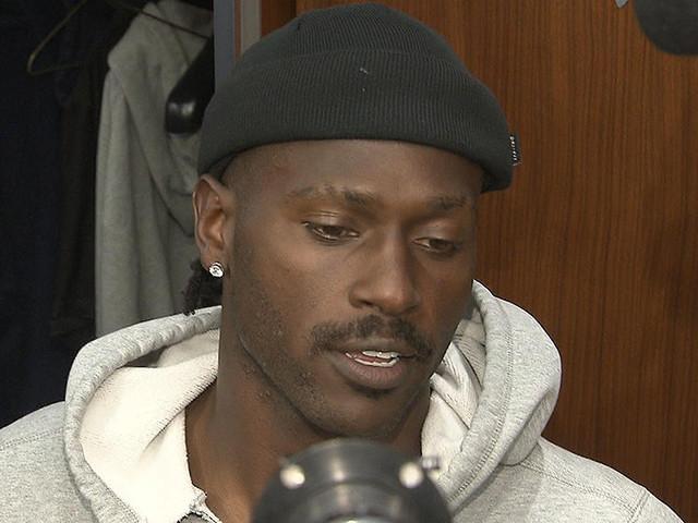 Antonio Brown Breaks Media Silence, Answers 4 Questions In Patriots Locker Room