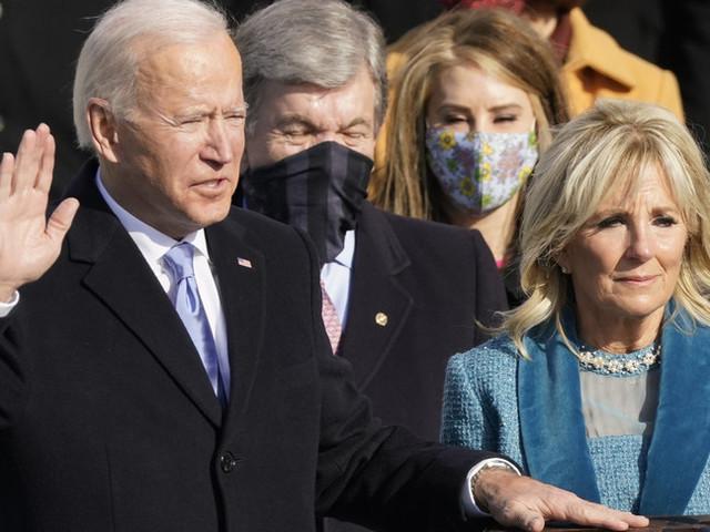 "La ""guerra incivile"" è finita. Joe Biden e KamalaHarris hanno giurato"