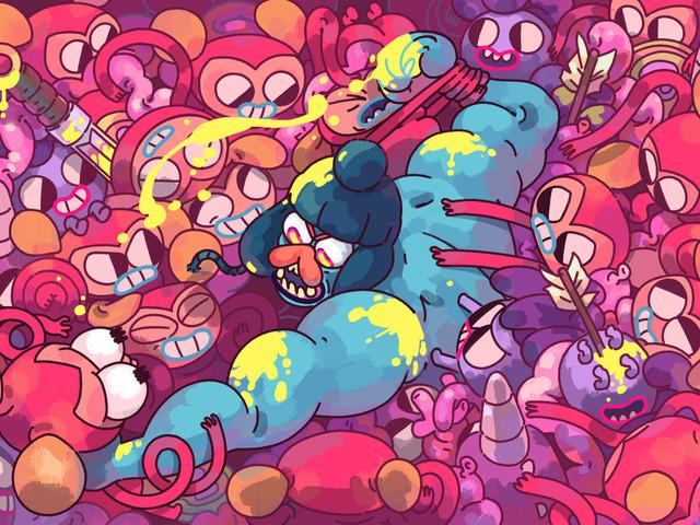 Il colorato puzzle game Grindstone annunciato per Apple Arcade
