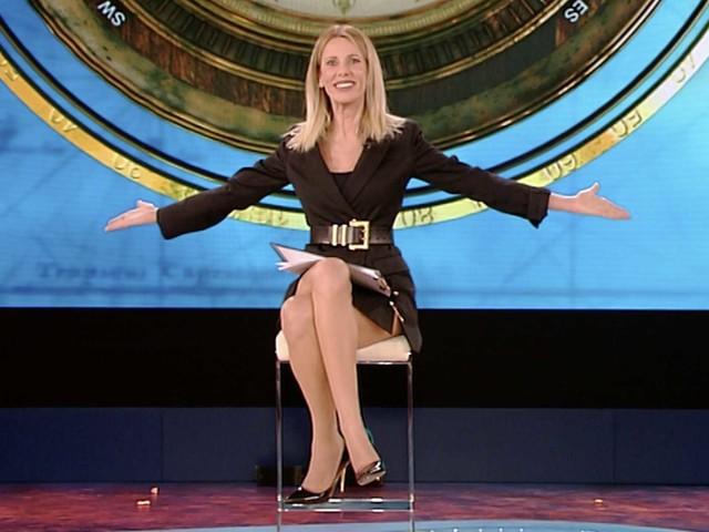 Isola dei Famosi, un applauso ad Alessia Marcuzzi uscita vincente dalla prima puntata