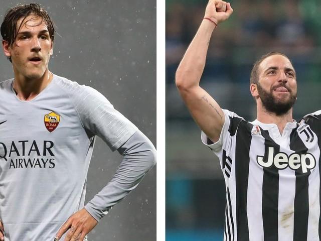Calciomercato Juventus: Higuain, Perin, Zaniolo tra le trattative aperte con la Roma