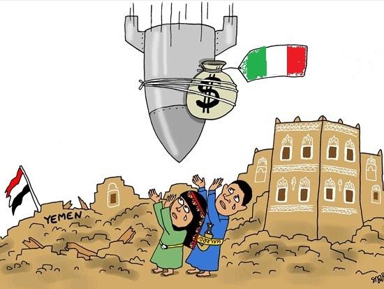 """Yemen: il massacro """"made in Italy"""" di donne e bambini"""