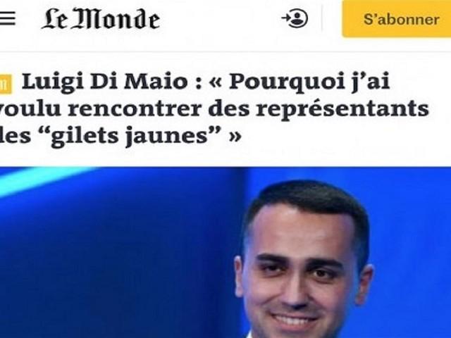 La gaffe di Di Maio nella lettera a Le Monde